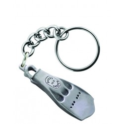 Image from Sparta Pewter Single Fin Key Chain