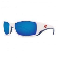 Image from Costa del Mar USA Limited Edition Blackfin Sunglasses - USA White