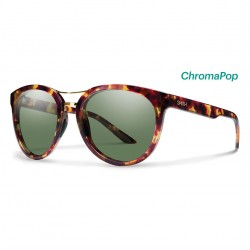 Image from Smith Bridgetown Tortoise Sunglasses with Chromapop Polarized Gray Lenses