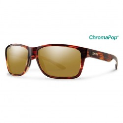Image from Smith Drake Sunglasses with Tortoise Frames and Chromapop Polarized Bronze Mirror Lens