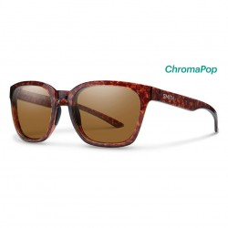 Image from Smith Founder Sunglasses with Vintage Havana Frames and Chromapop Polarized Brown Lens