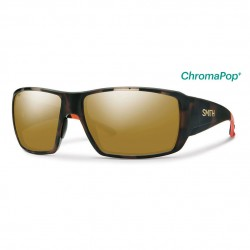Image from Smith Guides Choice Sunglasses with Matte Tortoise Frames and Chromapop Polarized Bronze Mirror Lens