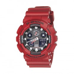 Image from G-Shock GA-100 Series - Red - Front