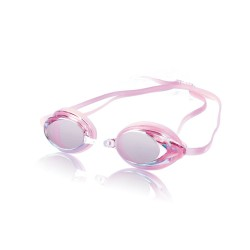 Image from Speedo Womens Vanquisher Mirror Goggle - Pink