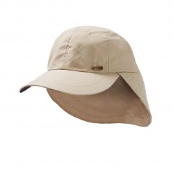 Image from Dorfman Pacific Stetson No Fly Zone Insect-Repelling Ball Cap with Sun Shield