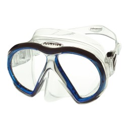 Image from Atomic SubFrame Mask Medium Clear Blue