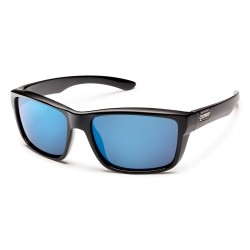 Image from Suncloud Mayor - Black/ Blue Mirror