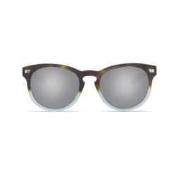 Image from Costa Del Mar 580 Polarized Glass Sunglasses - Matte Tide Pool / Gray Silver Mirror