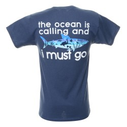 "Image from ""The Ocean is Calling"" Dive T Shirt"