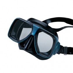 Image from Tusa Liberator Plus Scuba Mask Black Black
