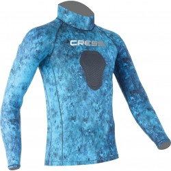 Image from Cressi Blue Hunter Demon Rash Guard