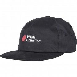 Image from Vissla Tsunami Adjustable Slide-Back Hat (Men's) - Black