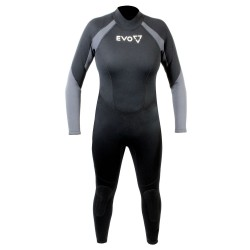 Image from EVO 3mm Super-Stretch Full Scuba Wetsuit (Women's)