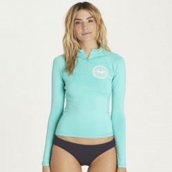 Image from BILLABONG SOL SEARCHER LS RG - Pool Blue - Front
