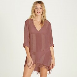Image from Billabong Babe Side Sheer Cover-Up Dress (Women's)