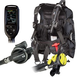 Image from Zeagle Stiletto BCD Scuba Package with Atomic B2, Z2, and Cobalt