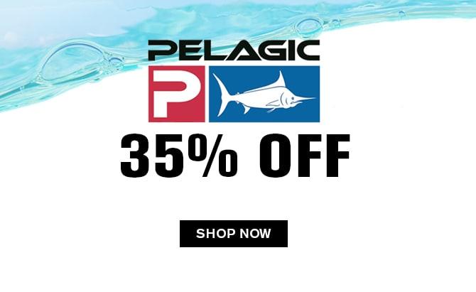 Pelagic 35% off