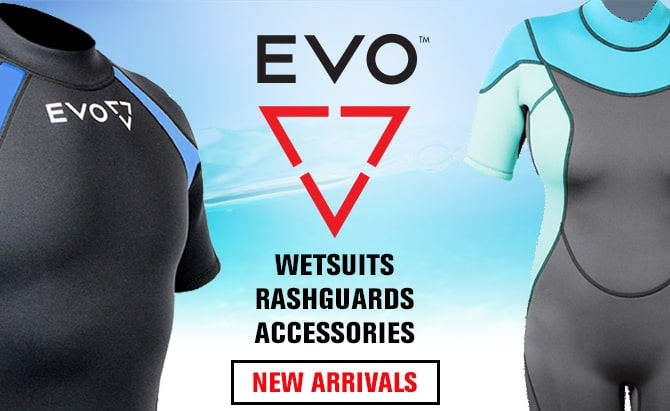 New Evo Wetsuits