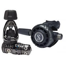 ScubaPro MK25 EVO BT/G260 Technical Dive Regulator System - Black Tech