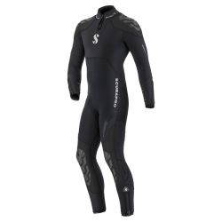 ScubaPro 7/5 MM Everflex Rear-Zip Full Steamer Wetsuit (Men's)