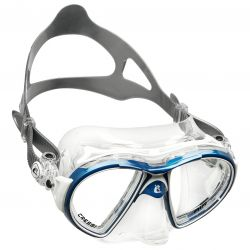 Cressi Air Crystal Silicone Dual-Lens Scuba Mask