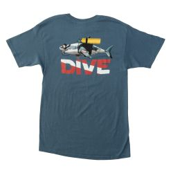 Great White Shark Dive T-Shirt