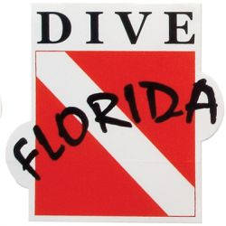 Dive Florida Sticker