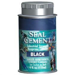 Aquaseal Cement 4oz Black