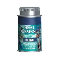Aquaseal Cement 4oz Clear