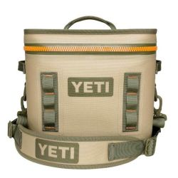 Yeti Hopper Flip 12 Quart Cooler - Tan/Orange