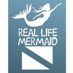 Real Life Mermaid Decal