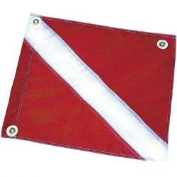 Nylon Dive Flag 20 by 24 Inches