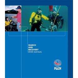 PADI SEARCH AND RECOVERY DIVER MANUAL-English