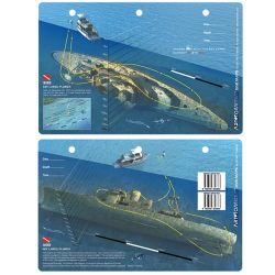 Bibb Dive Map Card