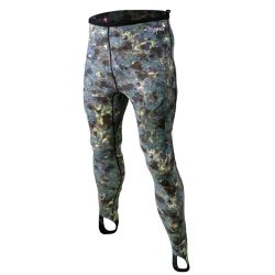 Tilos Brown Camo Lycra Pants