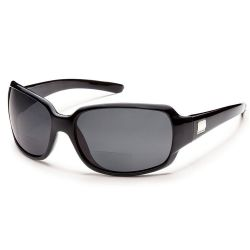 Suncloud Cookie Black/Grey Sunglasses +1.50