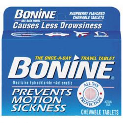 Bonine Motion Sickness Prevention