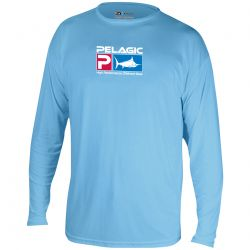 PELAGIC AquaTek UPF 50+ Long Sleeve Sunshirt (Men's)