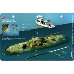 Ancient Mariner Wreck 3D Dive Card