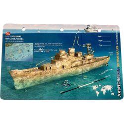 Waterproof 3D Dive Map - Duane Wreck
