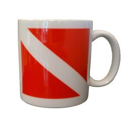 Dive Flag Ceramic Mug