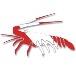 Dive Flag Lobster Decal
