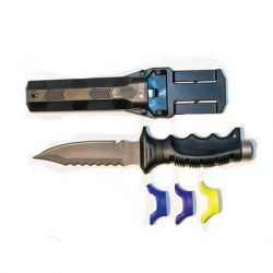 EVO Titanium Point Scuba Dive Knife