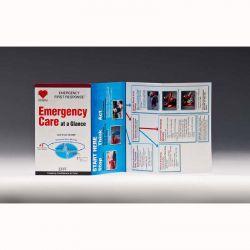 PADI Emergency Care at a Glance Card - English