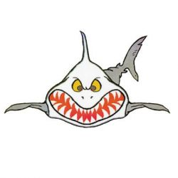 Sharkey Sticker