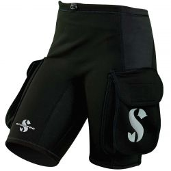 ScubaPro 1MM Hybrid Thermal Plush Cargo Shorts (Women's)