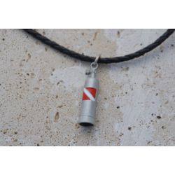Big Blue Scuba Tank Pendant