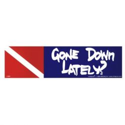 Gone Down Lately Bumper Sticker