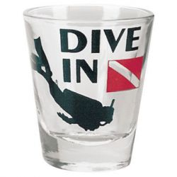 Dive In Shot Glass