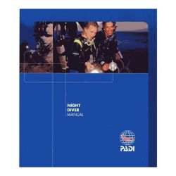 PADI Night Diver Specialty Manual (English)